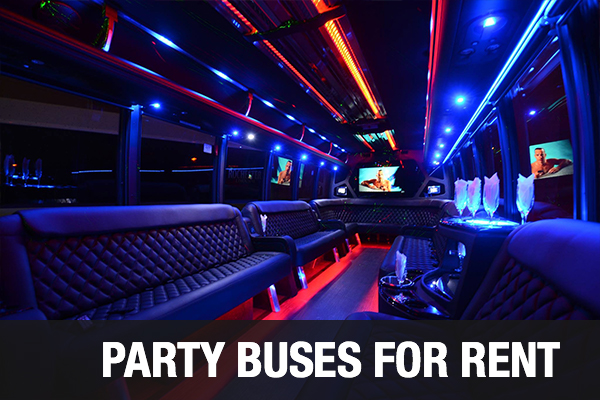 Party Buses For Rent New Orleans