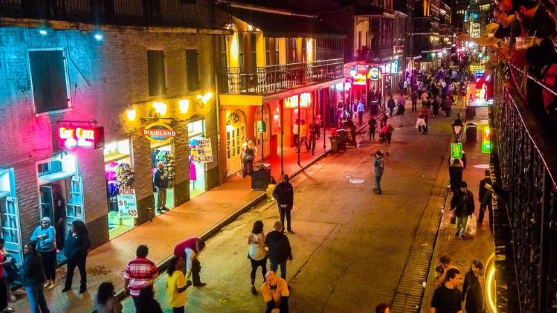 Party Bus Rental Bourbon Street New Orleans